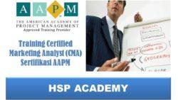 Training Certified Marketing Analyst (CMA) Sertifikasi AAPM