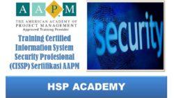 Training Certified Information System Security Profesional (CISSP) Sertifikasi AAPM