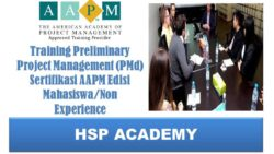 Training Preliminary Project Management (PMd) Sertifikasi AAPM Edisi Mahasiswa/Non Experience